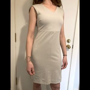 FIG VOYAGE GREY DRESS - Size small